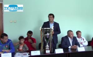 Пресс- конференция победителей Кубка Молдовы команды Заря