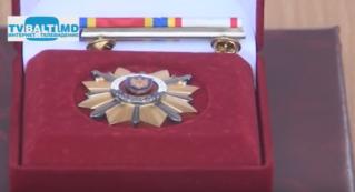 Вручение Ордена 1 степени 1 мотопехотной бригаде Бельц