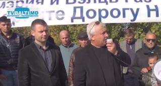 Митинг- протест против беззакония Balti Gaz в Бельцах