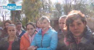 Забастовка рабочих в Бельцах фабрики Miso-Textile по задержке зар.платы