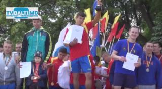 Легкоатлетическая эстафета- 2016 посвященная Дню спорта в Бельцах