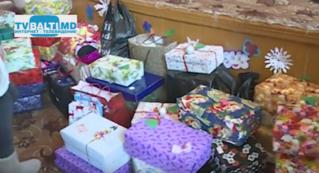 Новый год в интернате Бельц для слабовидящих  детей