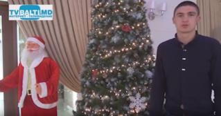 Новогоднее поздравление Бельчан от чемпиона РМ по боксу А Санжура