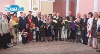 Чествование Золотых и Бриллиантовых юбиляров 2016 в Бельцах
