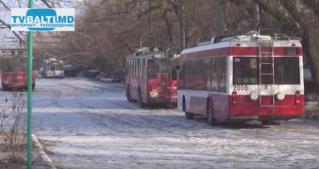 Перебои в городском транспорте в Бельцах