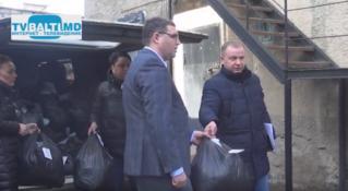 Фонд Р. Усатого вручил сотрудникам инспектората полиции Бельц новую форму