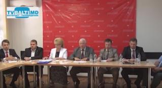 Пресс -конференция партии ПСРМ в Бельцах