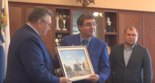 Встреча делегации Санкт-Петербург-Бельцы