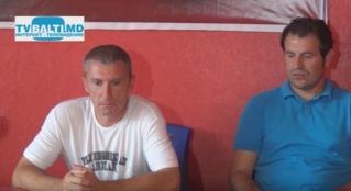 Пресс- конференция тренеров Заря(Бельцы)- Академия(Кишинев)