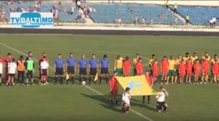 Футбольный матч Заря (Бельцы)- Зимбру (Кишинев)