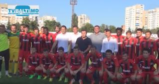 Заря (Бельцы)- Буковина (Украина) футбольный матч -2015