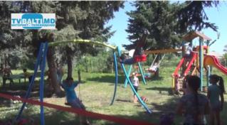 Фонд Р.Усатого подарил селу Елизавета игровую площадку