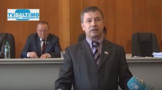 Снятие с должности вице- примара мун Бэлць А. Усатого