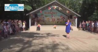 Открытие детского лагеря» Олимпиец-2016″ в Бельцах