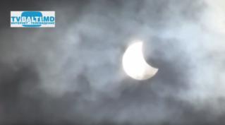 Солнечное затмение в Бельцах-2015 год