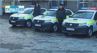 Инспекторат полиции Бельц получил новые патрульные машины
