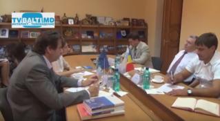 Официальный визит главы Офиса Совета Европы (Испания) в Бельцы