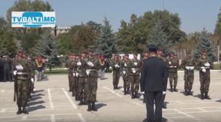 Показательные выступления мотопехотного 12 батальона Бельц