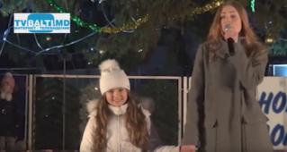 Открытие новогодней елки- 2015 в Бельцах