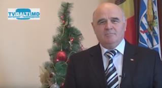 Новогоднее поздравление примара Бельц- В Панчук с 2015 годом