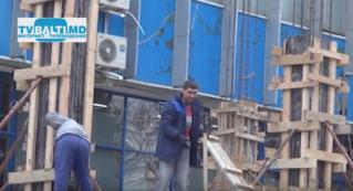 Демонтаж строения к универмагу Бельц