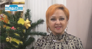 Новогоднее поздравление-2015 от директора сети магазинов Лади