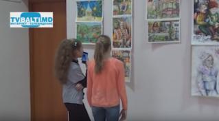 Выставка детских работ художественной школы Бельц