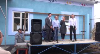 Фонд «Ренато Усатый» выделил селу Русены 100 тысяч леев на праздник Храма