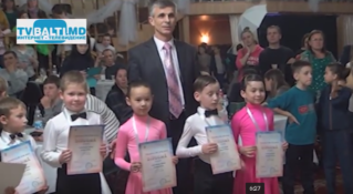 Награждение победителей в конкурсе бальные танцы Осень 2014