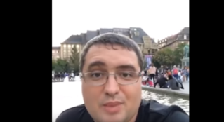 Р.Усатый:Потерял машину в Страсбурге.