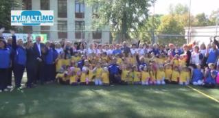 Фестиваль открытого футбола- 2016 в лиц.М.Горького Бельцы