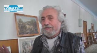 Открытие выставки художника В Палий в рамках фестиваля «Искусство и воспитание» в Бельцах