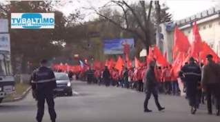 Шествие горожан за вступление в Таможенный Союз.