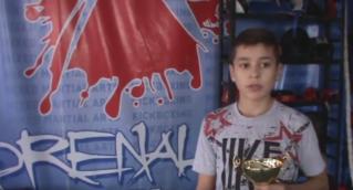 Юный бельчанин победил на Открытом кубке Европы по кикбоксингу в Чехии.