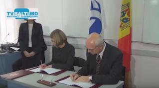 Подписание договора между CHET NORD и Европейским Банком