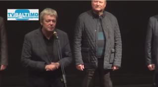 Актер А Стриженов на фестивале в Бельцах» Дни Российского кино в Молдове».