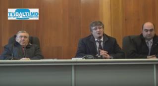 Пресс- конференция зам министра юстиции с руководителями предприятий