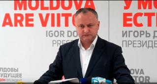 Обращение Игоря Додона к сторонникам Ренато Усатого