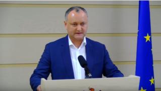 Игорь Додон призвал граждан к всеобщей мобилизации