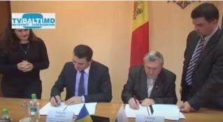 Подписание соглашения между ТПП и примэрией мун Бэлць