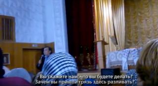 Андрея Нэстасе освистали на севере Молдовы