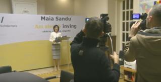 Санду отказалась отвечать на русском языке украинскому журналисту