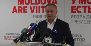 Избранный президент РМ—Игорь Додон, призвал избирательного конкурента не допустить раскола в общества
