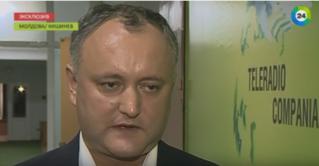 Додон рассказал, о чем будет говорить с Путиным