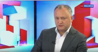 Додон: Впервые в истории Молдовы, за одного кандидата проголосовали 835 тысяч человек