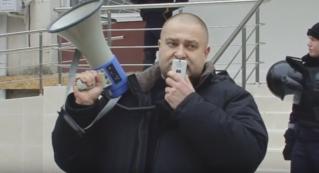 LIVE: Руки прочь от Гринку! Рассмотрение жалобы на решение суда об аресте активиста «Нашей Партии»