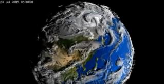 Вот как на самом деле выглядит наша планета Земля. Совсем как живая!
