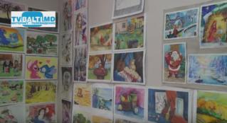 «Теплые цвета в холодные дни»-выставка работ детей