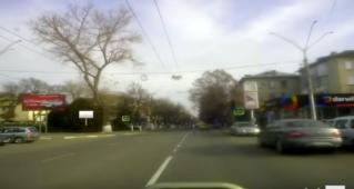 Билборды на улице Штефана чел Маре в Бельцах