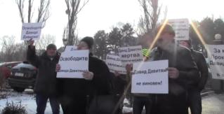 Protest la Penitenciarul nr.13 din Chișinău